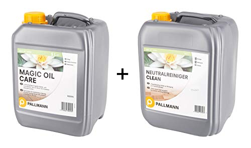 Pallmann Set Magic Oil Care 5 Liter und Neutralreiniger 10 Liter