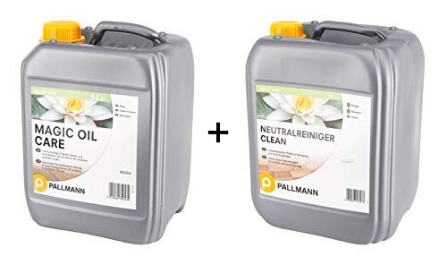 Pallmann Set Magic Oil Care 5 Liter und Neutralreiniger 10 Liter