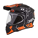 Oneal Sierra II Helmet Comb Black/Orange L (59/60cm) Casco, Adultos Unisex