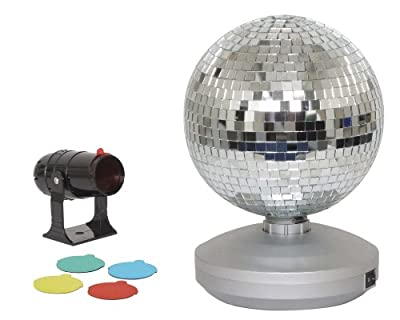 Cheetah G007BB 8-Inch Mirror Ball Party Set