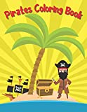 Pirates Coloring Book: Gift for Adult, Teens and Kids, Detailed Holiday Giant Gift, Girls & Boys, Ages 8-12, 6-8, 3-5, 6-7, 4-8, 2-5, 2-4, 8-14, 11, ... Men, Relief, Xmas Clearance, Christmas Party!