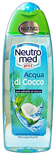Set 6 NEUTROMED Douche Acqua di Cocco 250 ml - Douche Mousse