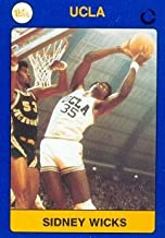 Sidney Wicks Basketball Card (UCLA) 1991 Collegiate Collection #16