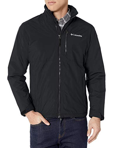 Weatherproof Men's Midweight Water and Wind Resistant Soft Shell Jacket Black (XL)