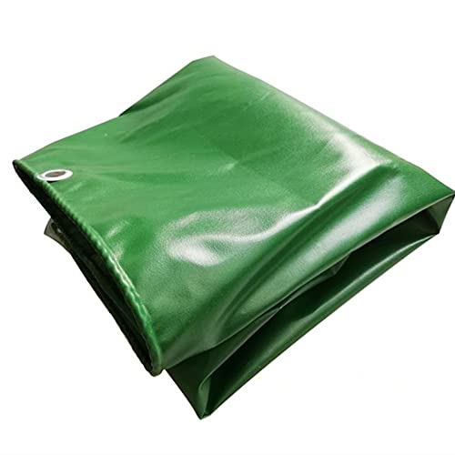 MWXFYWW Lona Impermeable Multiusos de PVC, Cubierta de Polietileno para Muebles de Exterior, Caravana, Barco, Ccoche, Lona para Acampar, Resistente al Desgarro con Ojales(Color:A;Size:3x5m)