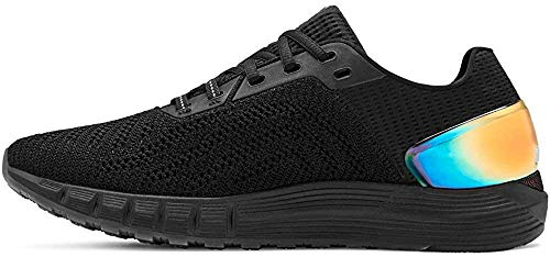 Under Armour Men's HOVR Sonic 2 Running Shoe, Black (002)/White, 10