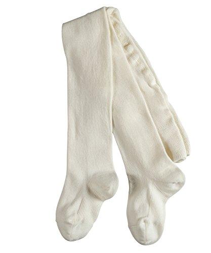 FALKE Unisex Baby Matt Deluxe 30 DEN W TI Strumpfhosen, Weiß (Off-White 2040), 62-68