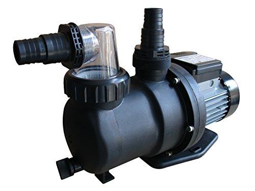 Gre PP076 - Pompe de Filtration pour Piscine, 550 W, 9,5 m3 / h- Noir