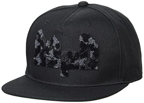 [キャロウェイ] [メンズ] フラット キャップ (迷彩サガラ刺繍・サイズ調整可) / 帽子 ゴルフ / C21291103 1010_ブラック FR