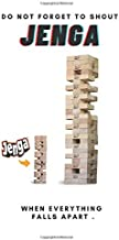 Do Not Forget To Shout Jenga When Everything Falls Apart: Notebook: Amazon.es: and alex, lily: Libros en idiomas extranjeros