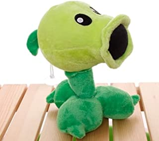 Plants Vs Zombies 2 PVZ Figures Plush Baby Staff Toy Stuffed Soft Doll (Peashooter)