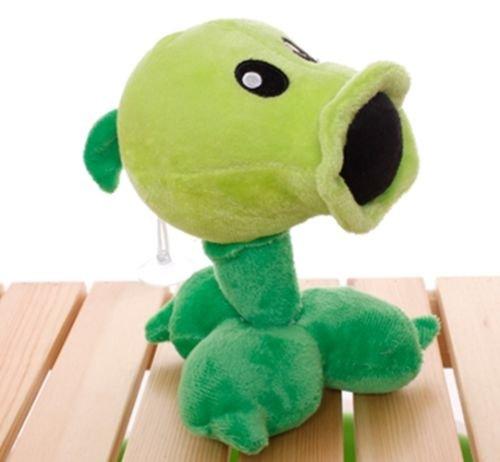 Plants Vs Zombies 2 PVZ Figures Plush Baby Staff Toy Stuffed Soft Doll (Peashooter)