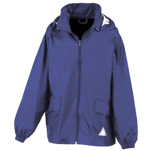 Result - Manteau Coupe-Vent léger avec Sac de Rangement - Garçon (XL) (Bleu Roi)