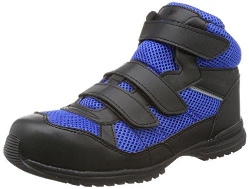 [ミドリ安全] 安全作業靴 JSAA認定 耐滑 ハイカット ハイグリップ プロスニーカー WPT125 ブルー 24.5 cm 3E