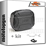 kappa maleta kvc35 k'vector 35 lt + portaequipaje monokey compatible con bmw k75 750