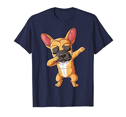 Dabbing French Bulldog T shirt Fawn Frenchie Dog Funny Dab