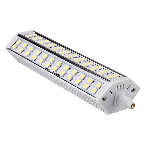 SODIAL(R)R7S 15W 72 LED 5050 SMD Ampoule a economie d'energie 189mm 100-240 Remplacer halogene Projecteur (blanc)