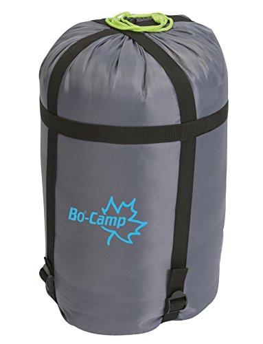 Bo-Camp 3667233_Noir Funda con Cuerda antirrobo + Correa de tensión, Gris, 30 cm