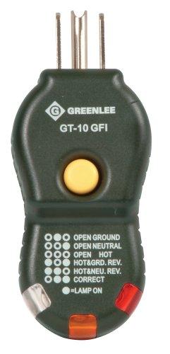 Greenlee GT-10GFI Gfi Circuit Tester