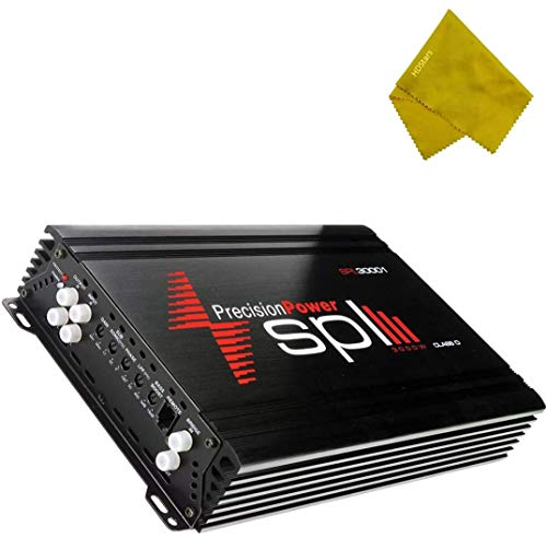 Precision Power Class D Mono Amplifier 3000W - 30000 Watts Monoblock Class D Subwoofer Amplifier