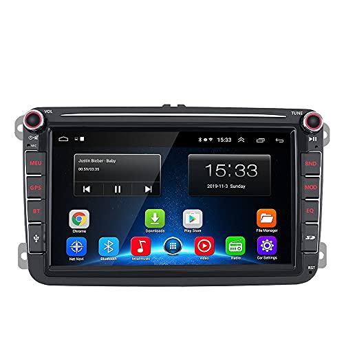 Unidad de cabezal Android de 8 pulgadas (2 + 32 GB) para Volkswagen, Skoda, Seat.