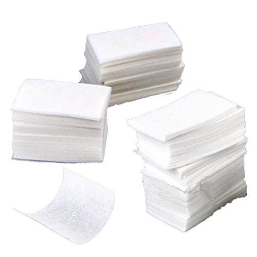 Fangfeen 400 Piezas Nail Art toallitas de algodón Gel de acrílico inclina el removedor de uñas Arte Remover Wipes