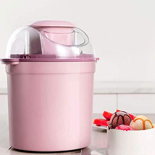 HYDDG Máquinas de Hielo Máquina congelada de Yogurt 800ml Mini máquina de Hielo de Fruta automática, fabricador de Hielo con compresor para Yogurt congelado, Sorbete y Hielo