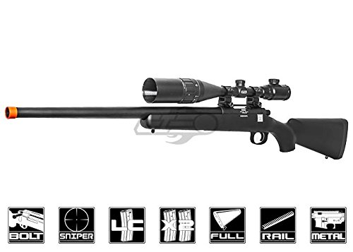 Echo 1 Full Metal PSR Bolt Action Sniper Rifle (Black)