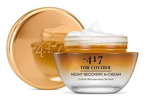 -417 Dead Sea Cosmetics Time Control Recovery A Night Recovery Cream Time Control Collection & Face Moisturizer, Wrinkle Recovery Anti-Aging Face Cream by -417