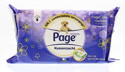 Page Toiletpapier Vochtig Kussenzacht, 42 Stuk