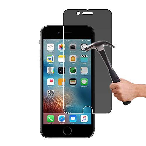Lapinette Vetro Temperato Compatibile con Apple iPhone 6-6S Anti-Spia - Protezione Schermo Vetro Temperato iPhone 6-6S Privacy - Pellicola Filtro Privacy in Vetro Temperato