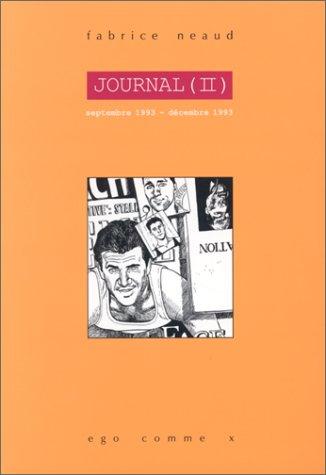 Journal tome 2, septembre 1993-décembre 1993