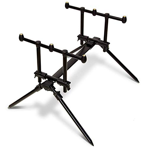 Sporting Wholesale NGT Fully Adjustable Quickfish Solid 3 Rod Pod With Carry Case Carp Fishing
