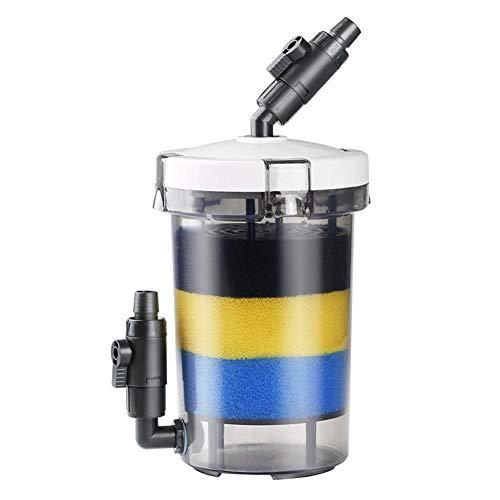 浄水フィルター スポンジフィルター 濾過装置 強力な濾過性 小型 水槽 ろ過装置 水質改善 交換用 水族館 魚タンク フロントフィルター ミュート吸引ポンプ LW - 602水質保護 (黒)