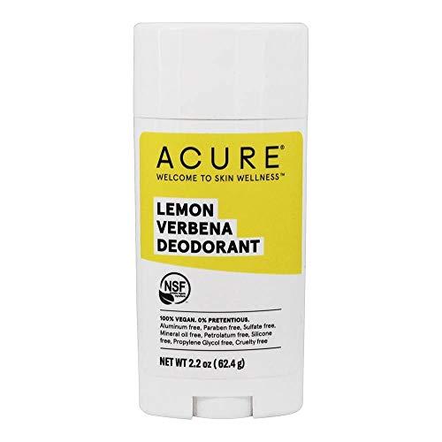 Acure Deodorant Lemony Fresh & Invigorating Scent, lemon verbena, 2.25 Ounce