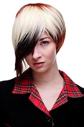 WIG ME UP - Perruque cosplay courte carré extravagante rousse rouge platine mélange SA061-33-350-613