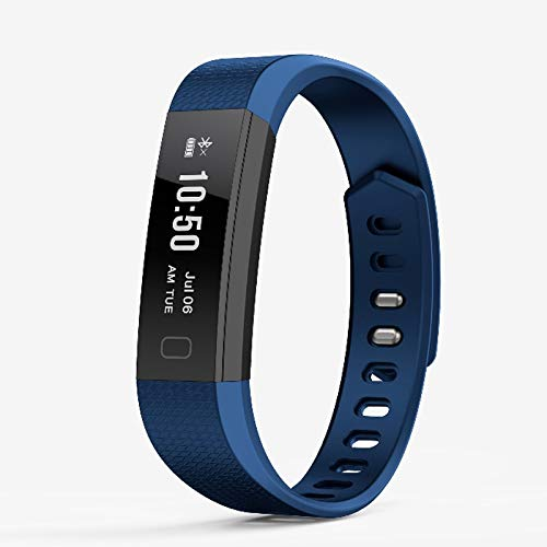 Alvnd Intelligente polsband-hartslagbewaking met waterdichte sportarmband en anti-lost-vibratie-camera-fitnesstracker, C