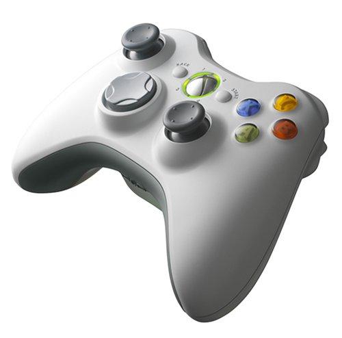 Xbox 360 Wireless Controller - White [video game]