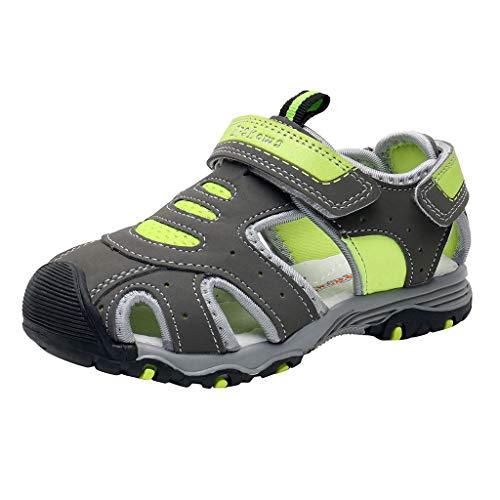 Sandalias Deportivas para NiñOs Sandalias Baotou De Verano Zapatillas De Playa Antideslizantes Confort De Fondo Suave Zapatos Casuales Fiesta Al Aire Libre Zapatos De Estudiante Regalo De CumpleañOs