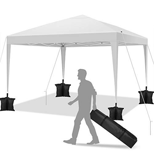 YUEBO Carpa 3x3 m Carpas de Camping Impermeables Gazebo Plegable Protección UV...