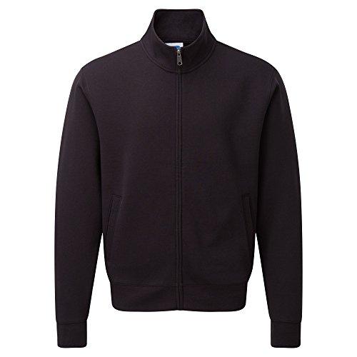 Russell Herren Authenitc Sweatshirt Jacke (L) (Schwarz)