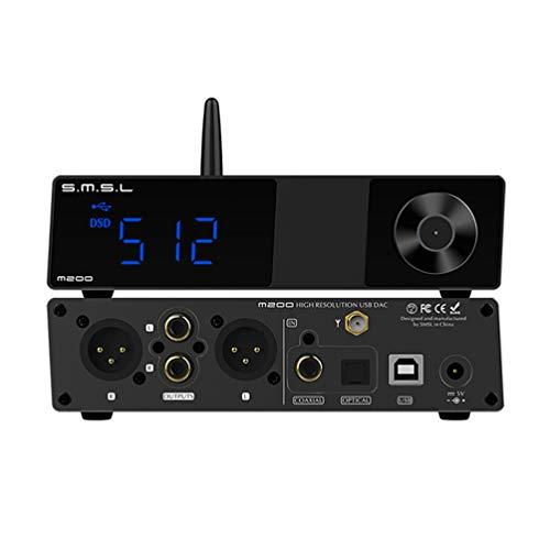 S.M.S.L M200 AK4497 LDAC AptX-HD Bluetooth 5.0 DAC Hi-Res 32bit / 768kHz DSD512 DAC USB ottico coassiale decoder