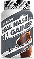 Bigmuscles Nutrition Real Mass Gainer [1Kg, Chocolate]   Lean Whey Protein Muscle Mass Gainer, Complex Carbohydrates,...
