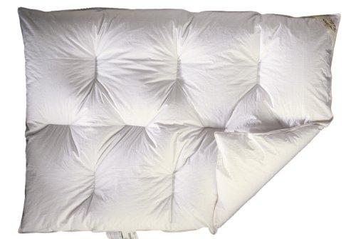 ARO Karo 1001350 Couette 90% duvet de Pologne 95 °C 100 x 135 cm Blanc