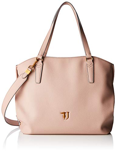 Trussardi Jeans Lavanda Tote Bag, Borsa Donna, Rosa (Light Pink), 37x29x15 cm (W x H x L)
