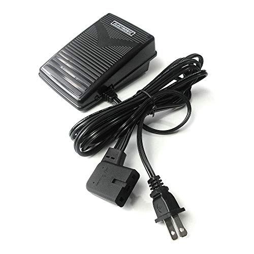 Control de pies de 110/120 V con cable para Elna Star 62 64 72 74 Lotus 14 15 22 24 25+