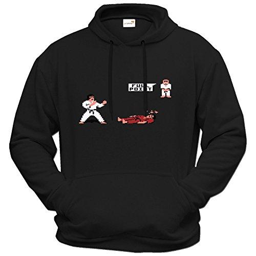 getshirts - Best of - Hoodie - Retro Gaming - International Karate - für Fans des C64 - schwarz L
