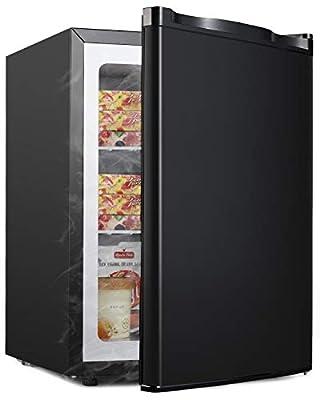 ADT Freezer 2.1 Cubic Feet Upright Freezer (Black)