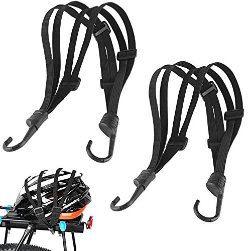 Elasticizzata Cinghia Di Corda Elastica Cinghie Per Bagagli Cinghia Elastica Bike Moto Bagagli Gancio 2 Cinghie Di Tensionamento Per Portapacchi Con Ganci Regolabili Cinghie Per Casco Da Motociclista
