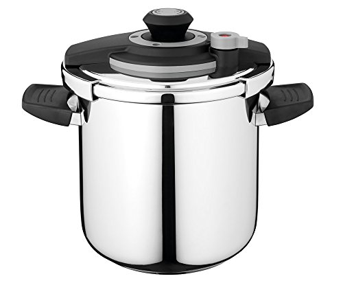 Berghoff Vita Induction-Safe 9L Energy Efficient Pressure Cooker, Stainless Steel, Silver, 22cm